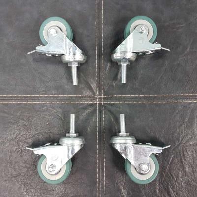 Комплект колес к напольной подставке-стойке для дисплея PL FS-400.B