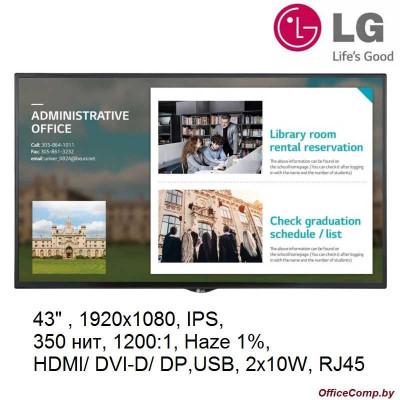 Информационная панель LG 43SE3KE-B