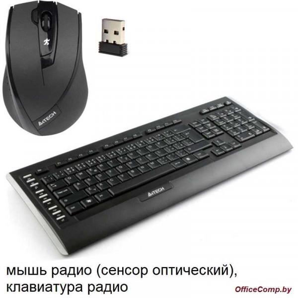 Клавиатура + мышь A4Tech 9300F V-Track