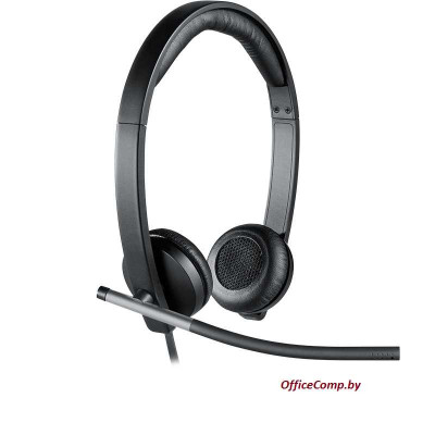 Гарнитура LOGITECH UC Corded Stereo USB Headset H650e - Business EMEA 981-000519