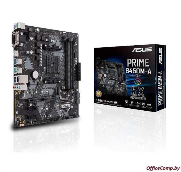 Материнская плата ASUS Prime B450M-A