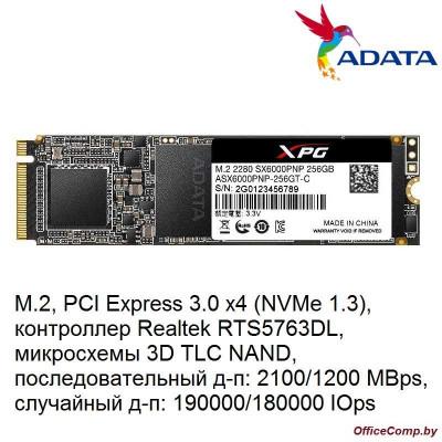 SSD A-Data XPG SX6000 Pro 256GB ASX6000PNP-256GT-C