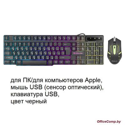 Клавиатура + мышь Defender Sydney C-970 (45970)