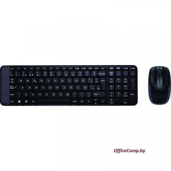 Мышь + клавиатура Logitech Wireless Combo MK220 L920-003169