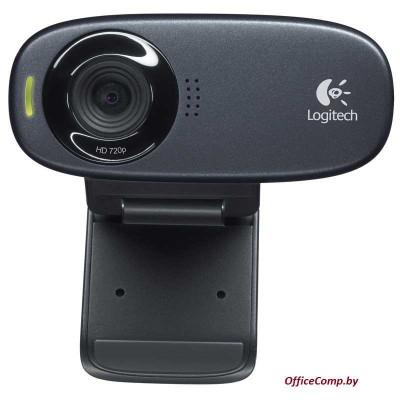 Web камера Logitech HD Webcam C270 черный, 1.3 Мп L960-001063
