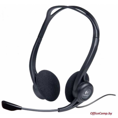 Наушники с микрофоном Logitech PC Headset 960 USB (L981-000100)