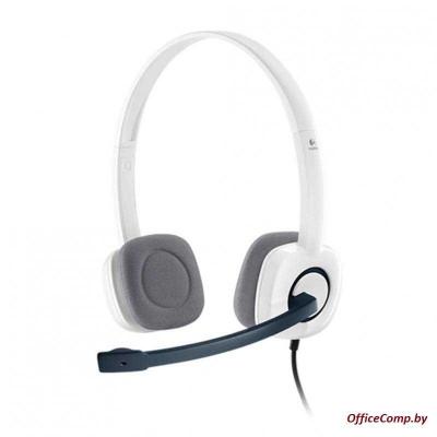 Наушники с микрофоном Logitech H150 (белый) (L981-000350)