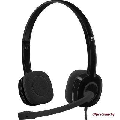 Наушники с микрофоном Logitech Stereo Headset H151 (L981-000589)