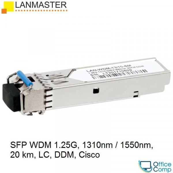 Модуль Lanmaster LAN-WDM-13/15-20-SM