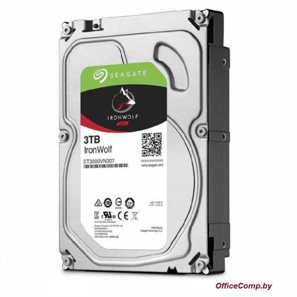 Жесткий диск Seagate IronWolf 3TB ST3000VN007