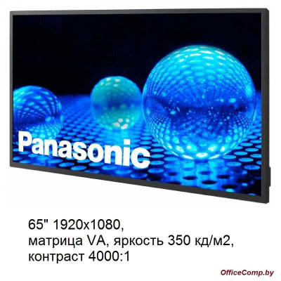 Информационная панель Panasonic TH-65EF1E