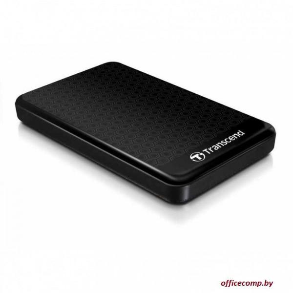 Внешний HDD Transcend StoreJet 25A3 1TB Black TS1TSJ25A3K