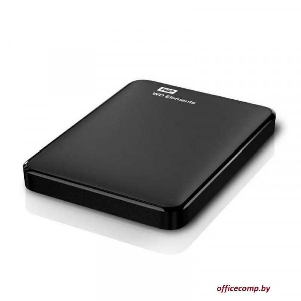 Внешний HDD WD Elements Portable 1TB WDBUZG0010BBK
