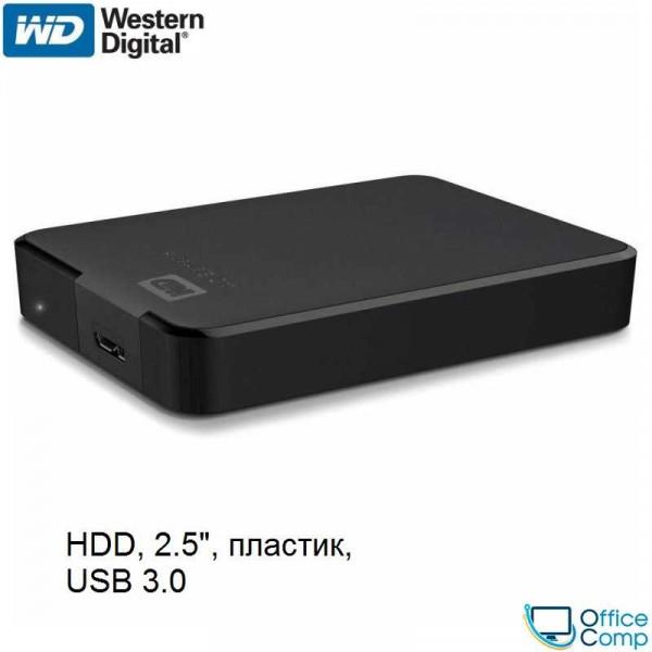 Внешний накопитель WD Elements Portable 4TB WDBU6Y0040BBK