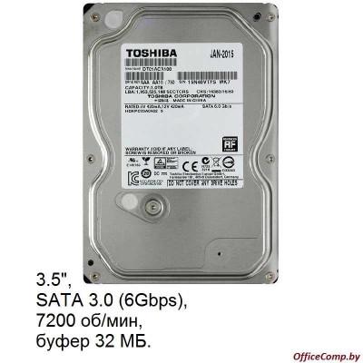 Жесткий диск Toshiba DT01ACA 1TB (DT01ACA100)