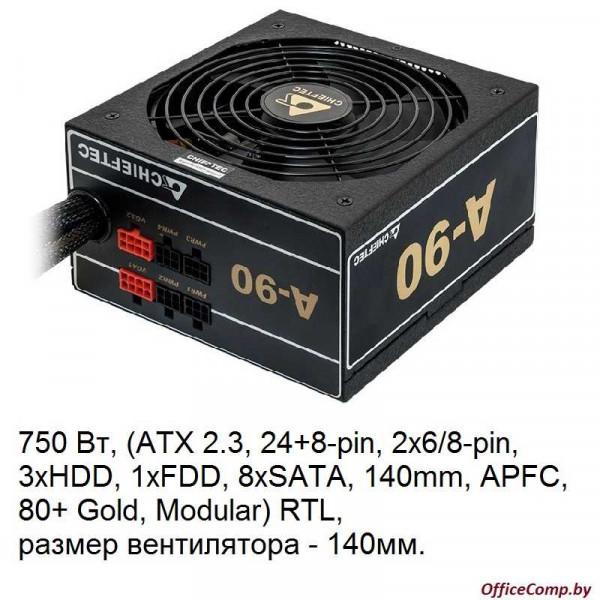 Блок питания Chieftec A-90 750W GDP-750C