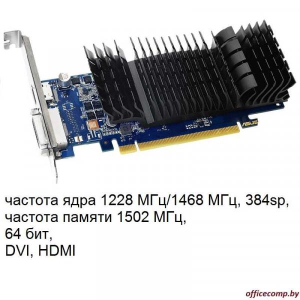 Видеокарта ASUS GeForce GT 1030 2GB GDDR5 (GT1030-SL-2G-BRK)