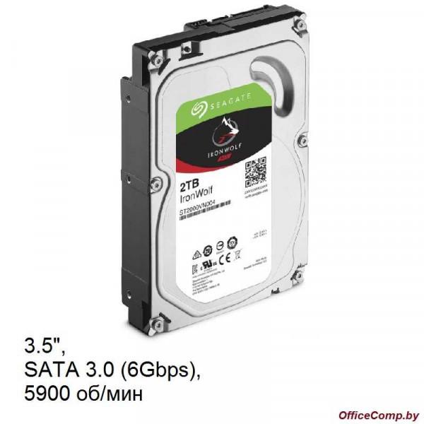 Жесткий диск Seagate Ironwolf 2TB ST2000VN004