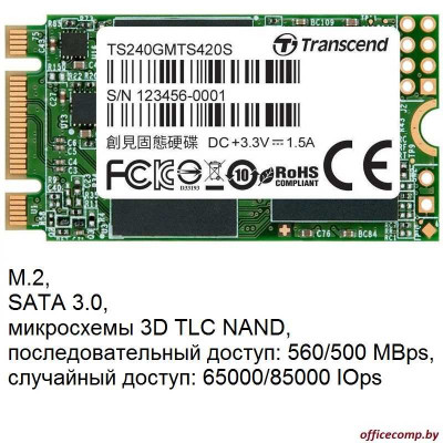 SSD Transcend MTS420S 240GB TS240GMTS420S